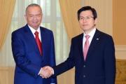 Uzbekistan and Korea launch Ustyurt Gas Chemical Complex