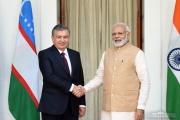 Uzbekistan president visits India