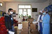 Tajikistan: UCA donates medicine to Khorog hospital to fight Covid-19